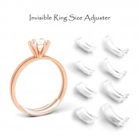 Invisible Resin Ring Size Adjuster for Any Loose Rings