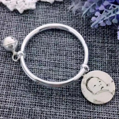 Kid's Personalized Photo Engraved Bangles
