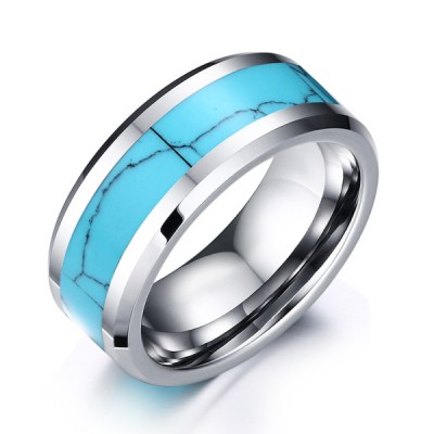 Tungsten Silver Special Men's Ring