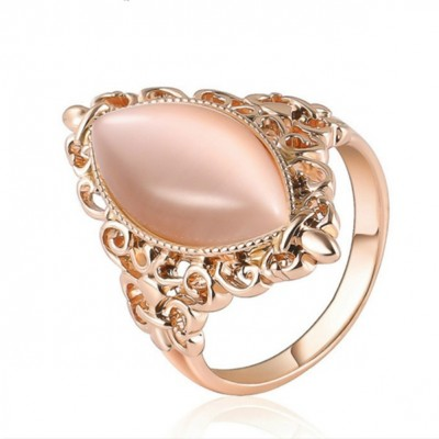 Vintage Oval Opal Rings for Women