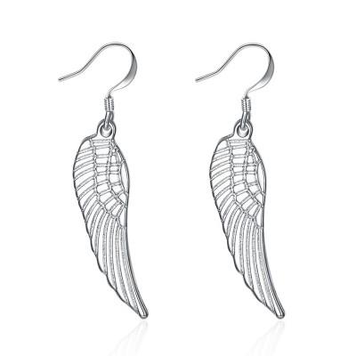 Fashion Wing Design S925 Silver Earrings