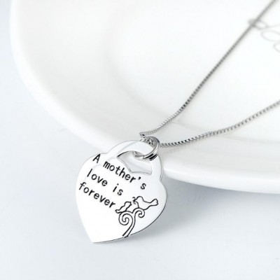 Maternal Love 925 Sterling Silver Necklace
