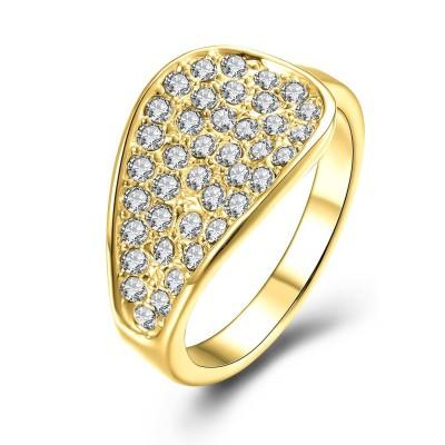 Round Cut White Sapphire Rose Gold/Silver/Gold Titanium Wedding Bands