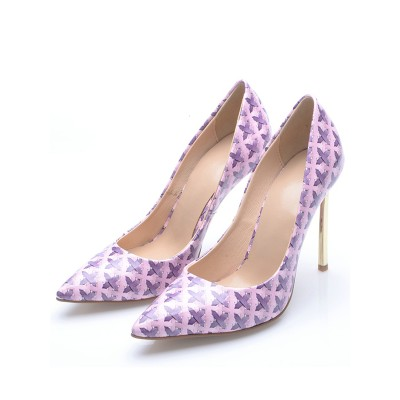 Women's Stiletto Heel Closed Toe High Heels