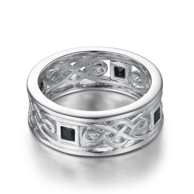 925 Sterling Silver Wedding Bands For Men